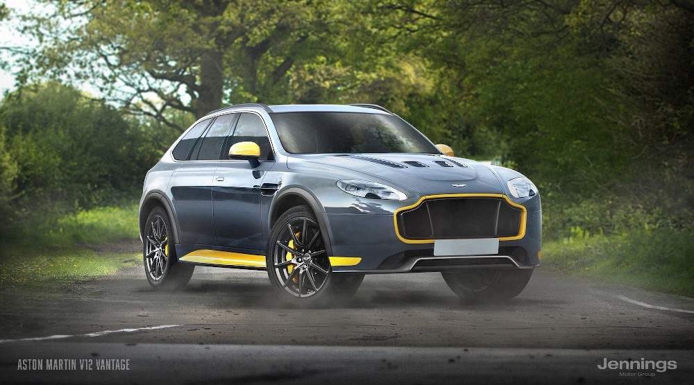 Top 7 sports cars imagined as SUVs; Ford Mustang, Ferrari ...