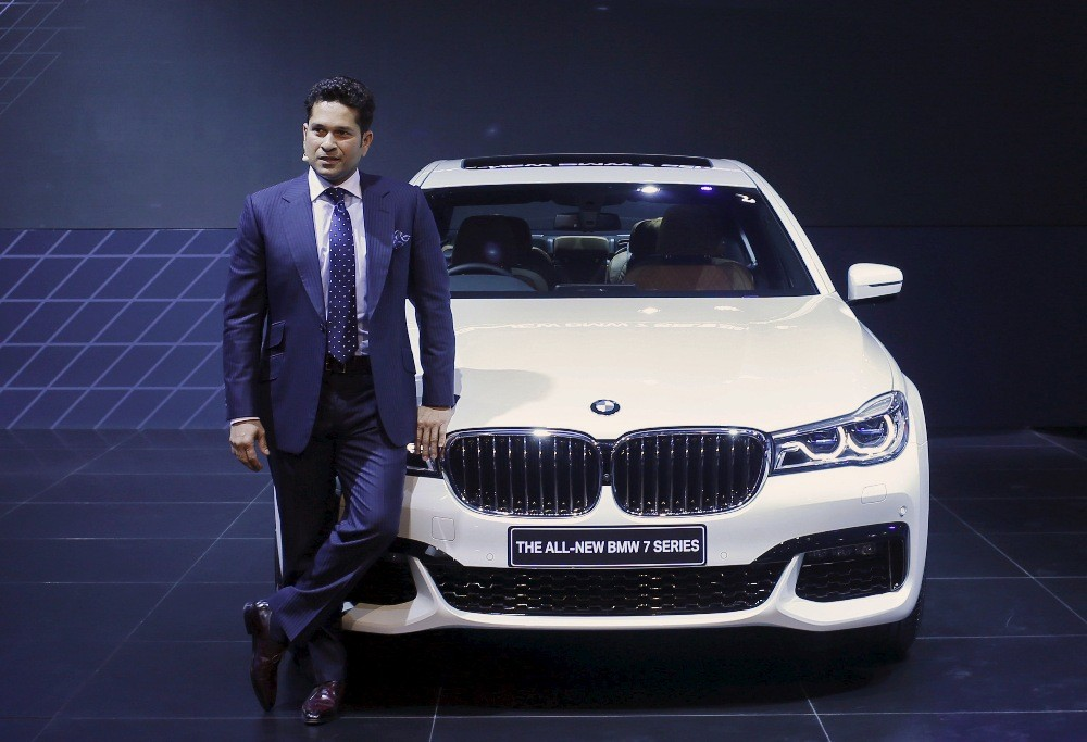 Sachin Tendulkar and BMW