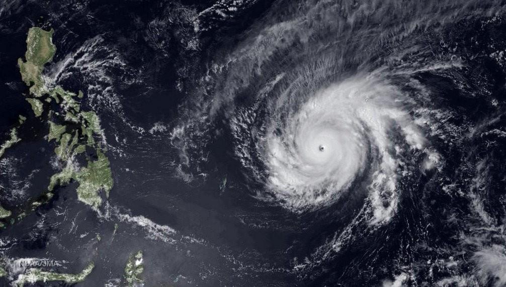 Maysak Intensifies to Super Typhoon Over Pacific