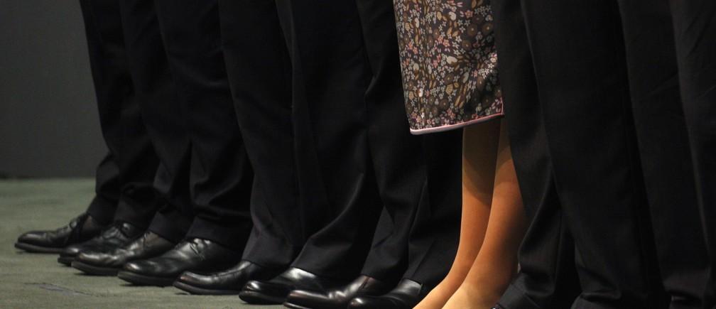 women in top leadership positions