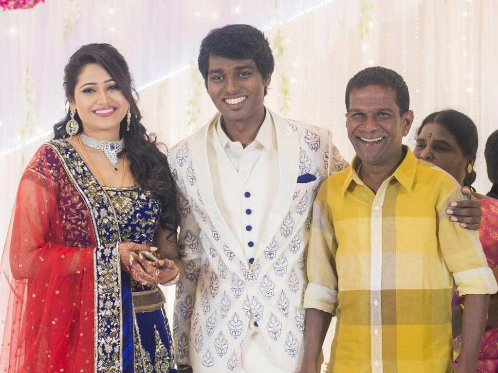 Ganabala at Atlee-Krishna Priya's Wedding Reception