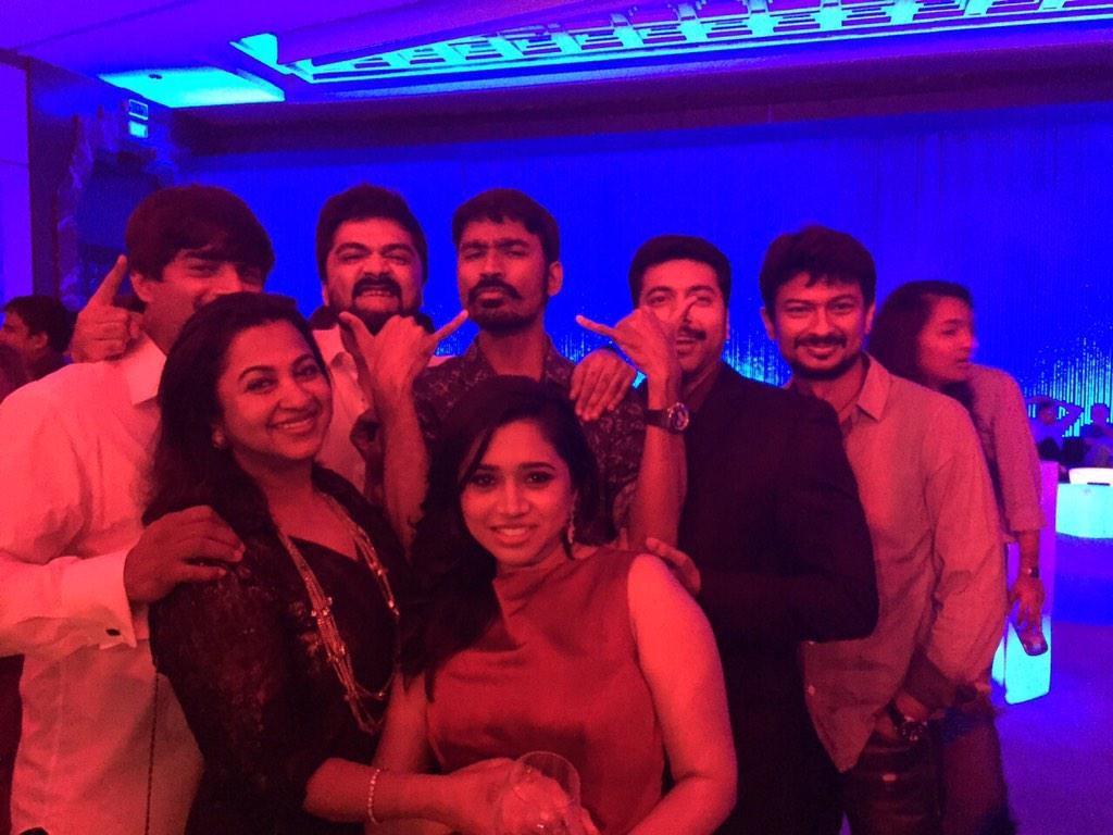 Celebs at Trisha-Varun Manian's Engagement Party