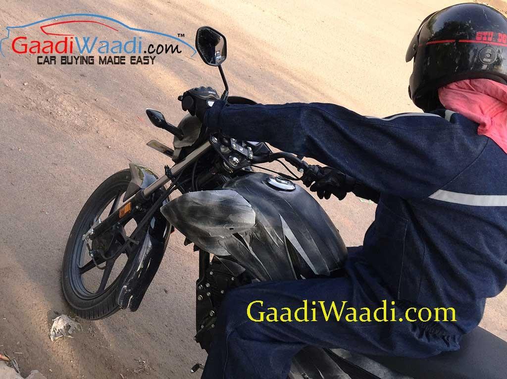 Honda Livo Commuter Motorcycle Spied