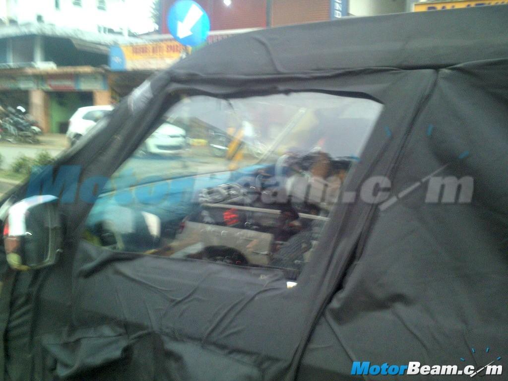 Mahindra New-Gen Bolero U301 Returns in Fresh Spy Shots