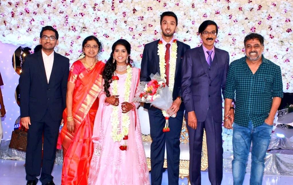 N Lingusamy at Manobala's Son Harish's Wedding