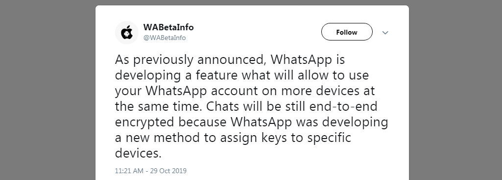 WhatsApp new feature coming soon