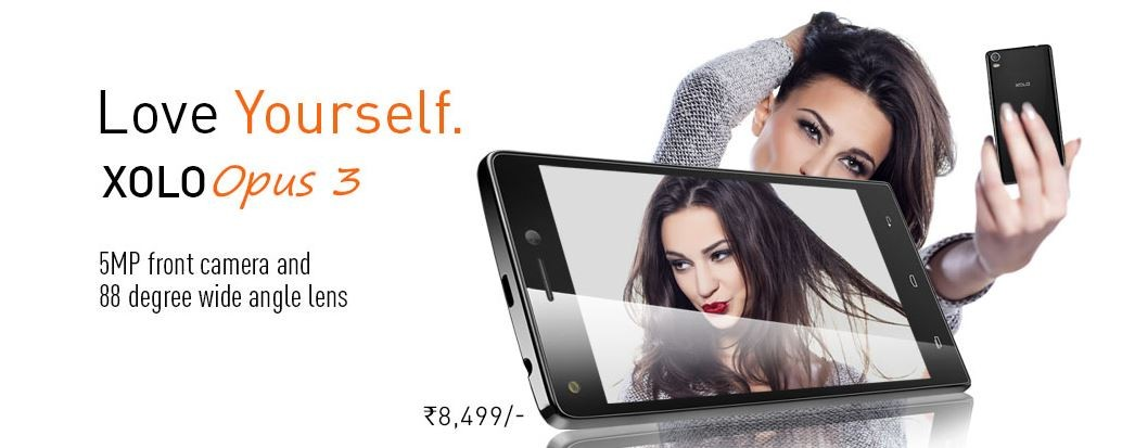 Xolo Opus 3: Budget Pro-Selfie Smartphone Launched in India; Price, Specifications Details