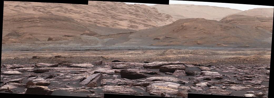 NASA's Curiosity Rover discovers purple rocks on Mars! - IBTimes India
