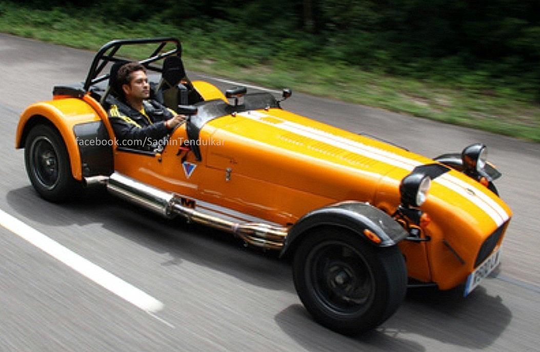 Sachin and Caterham 7