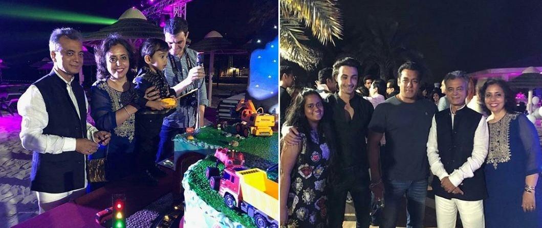 Salman Khan's nephew Ahil's 2nd birthday