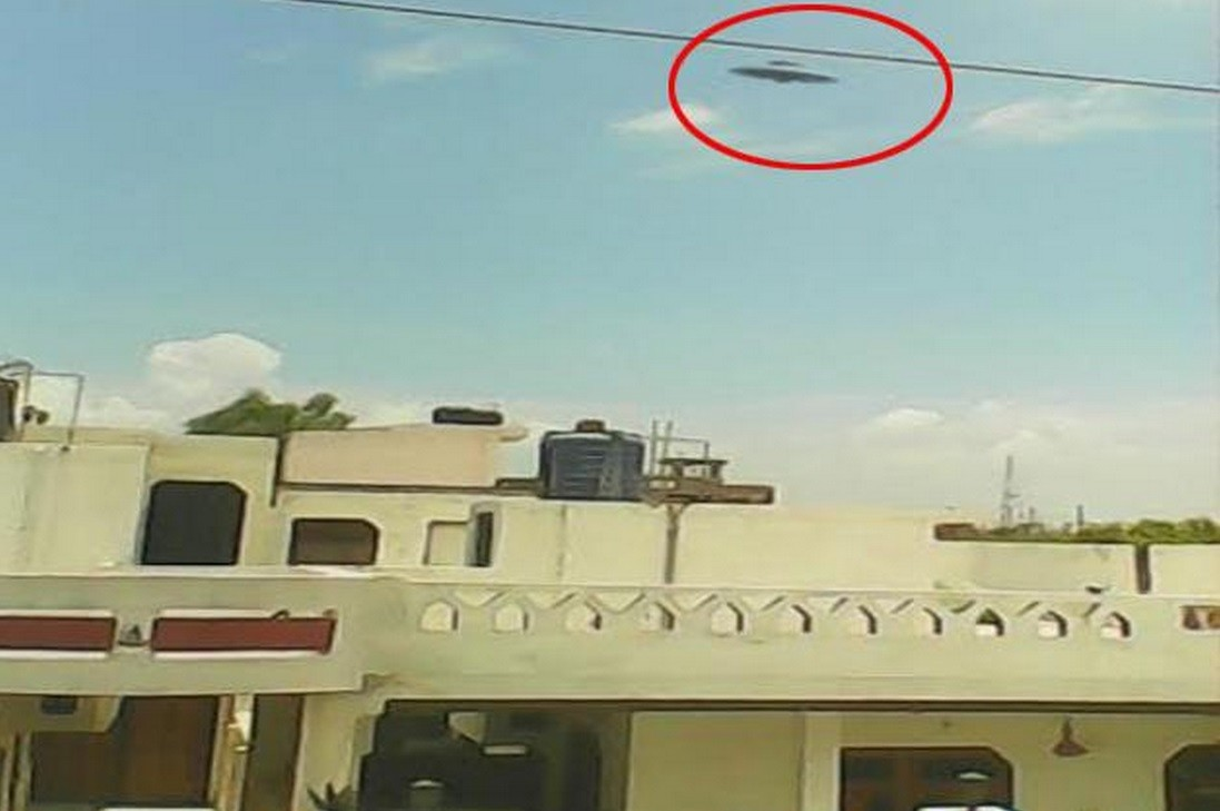 UFO Sighting: Kanpur Boy 'Captures' Flying Saucer on Camera [PHOTOS] - IBTimes India
