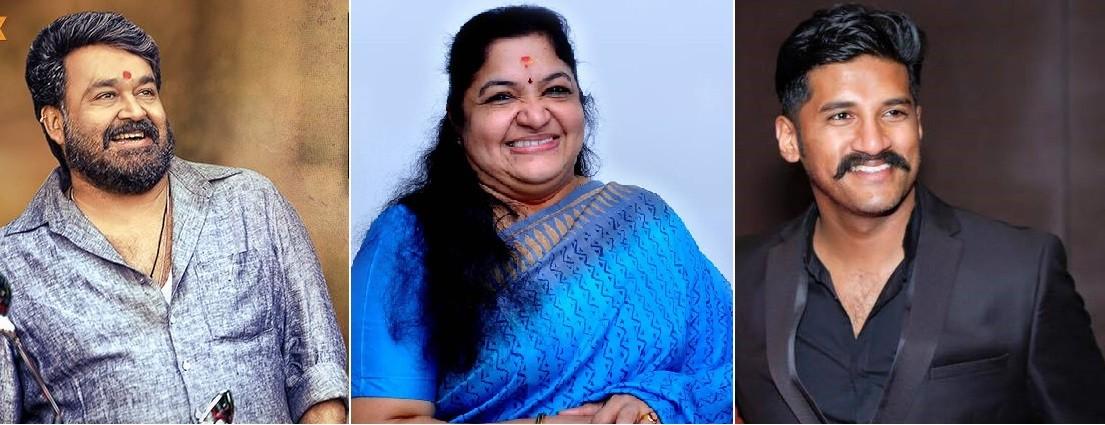 Mohanlal, KS Chithra, Vijay Yesudas