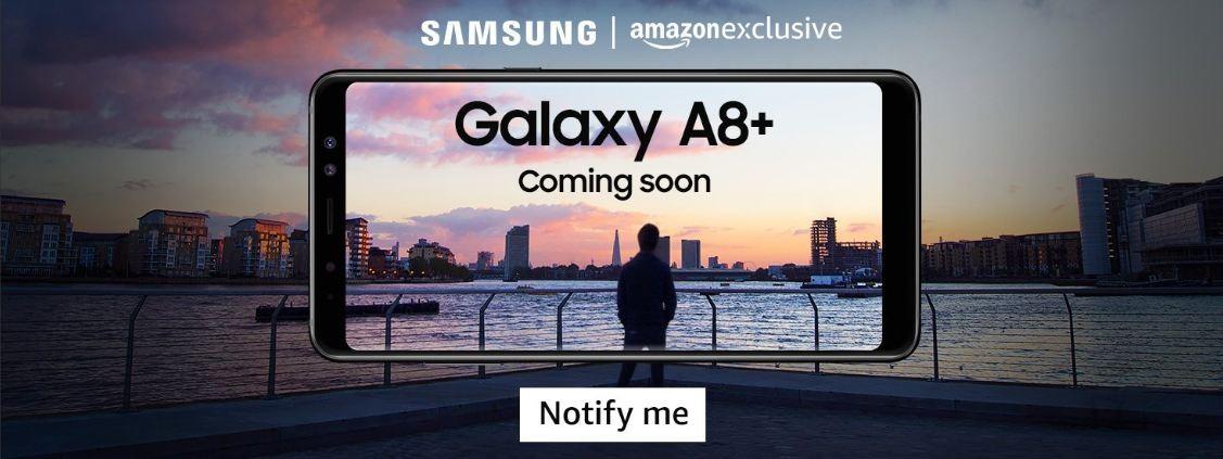 Samsung, Galaxy A8  (2018), Amazon India, exclusive, features, price, India, Galaxy A8 (2018)