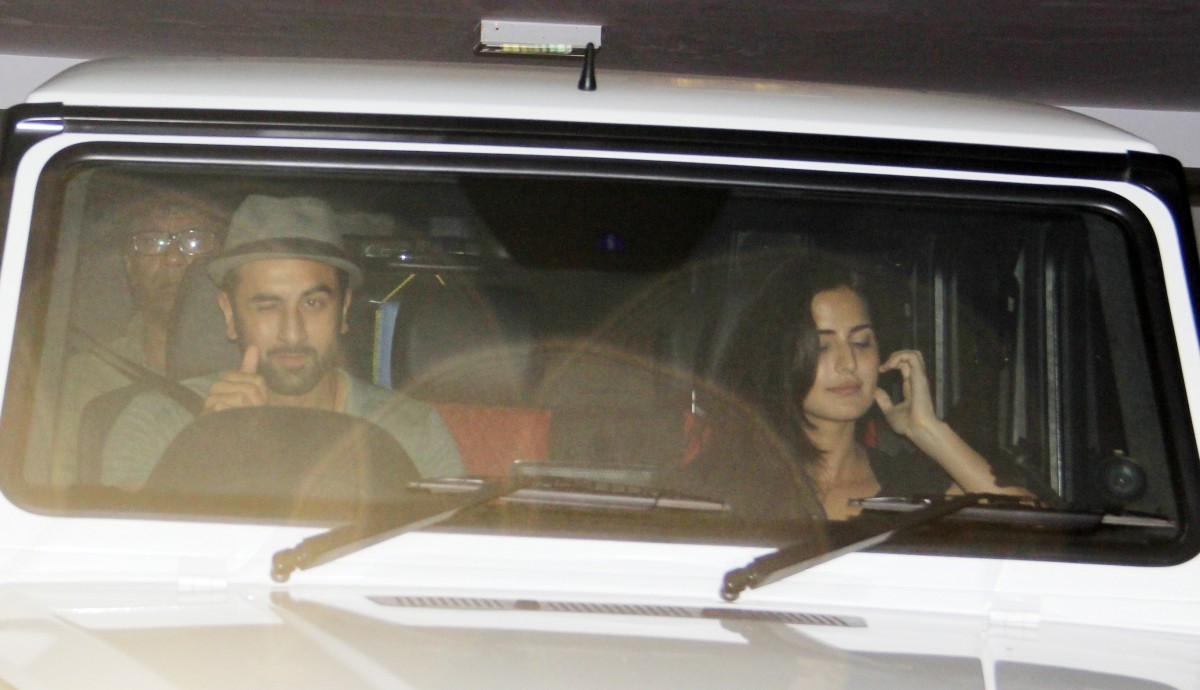Ranbir Kapoor, Katrina Kaif Spotted Partying Together