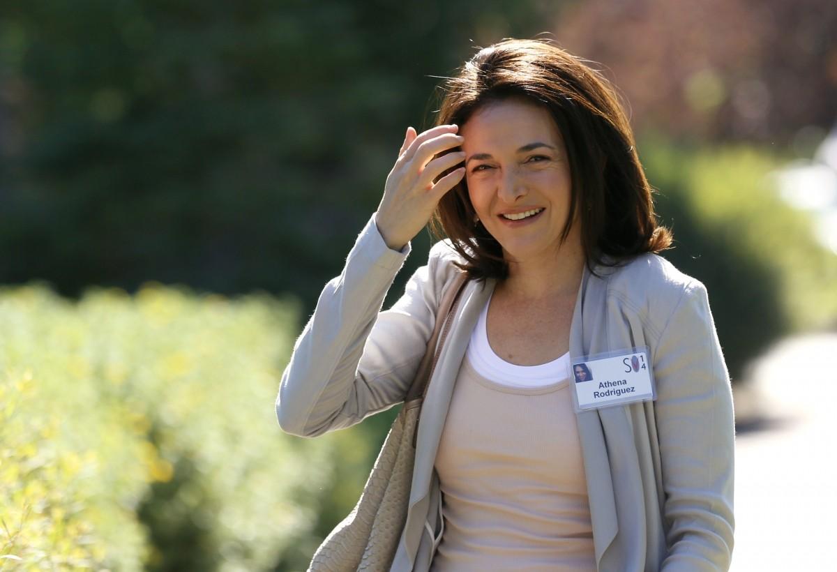 10. Sheryl Sandberg