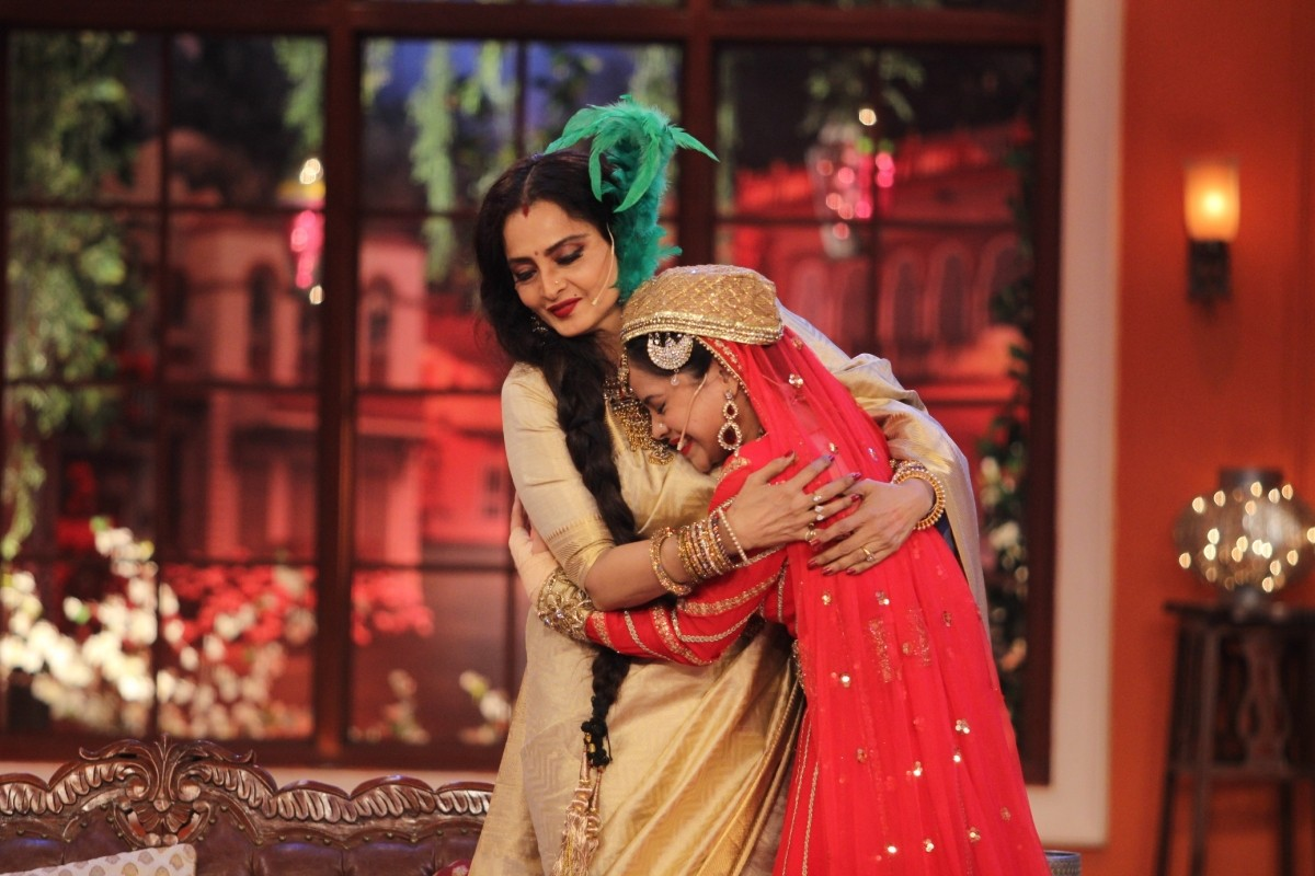 Rekha promoting 'Super Nani' in 'Comedy Nights with Kapil'