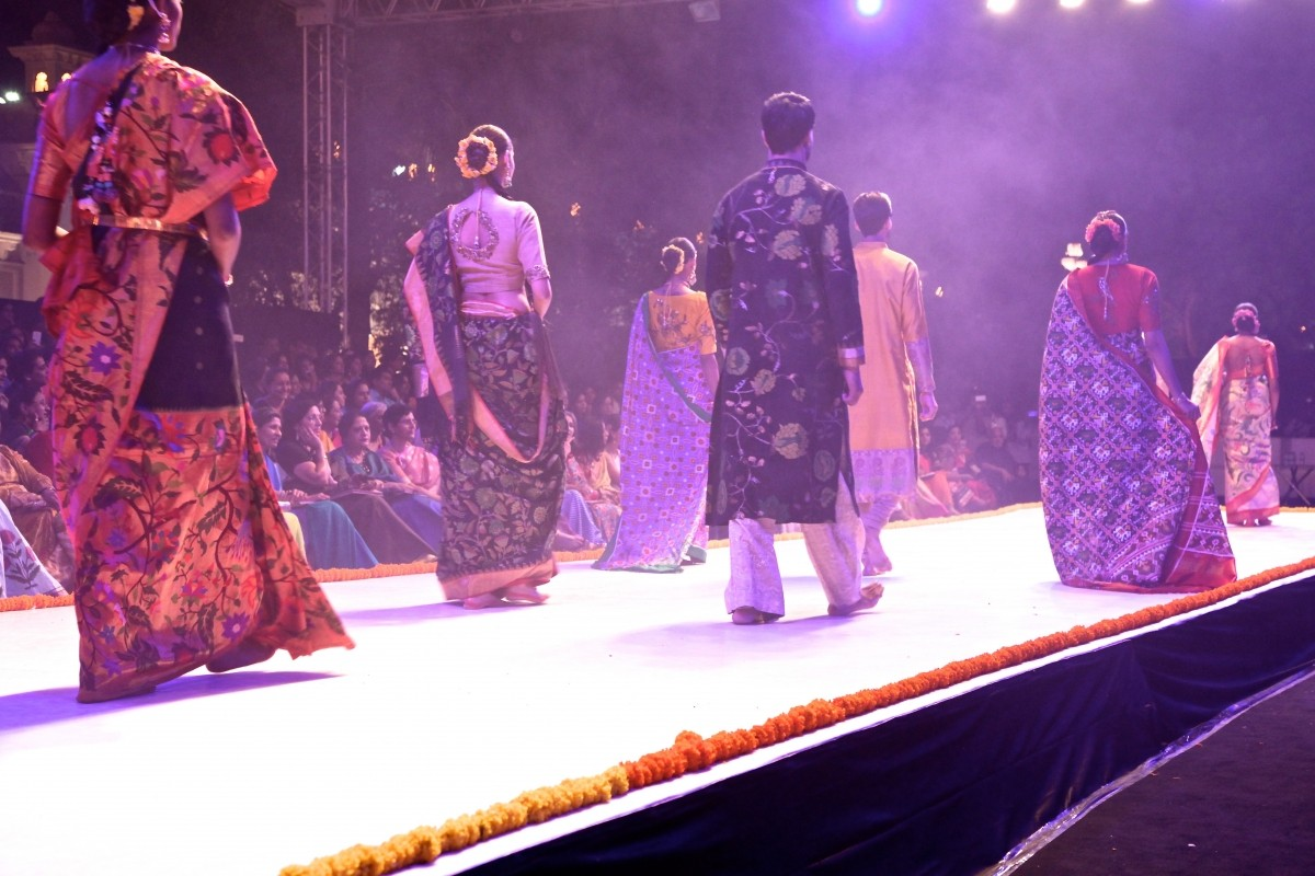 Fashion Show to support Craft Council Fund Raising Event 'Kausalyam'