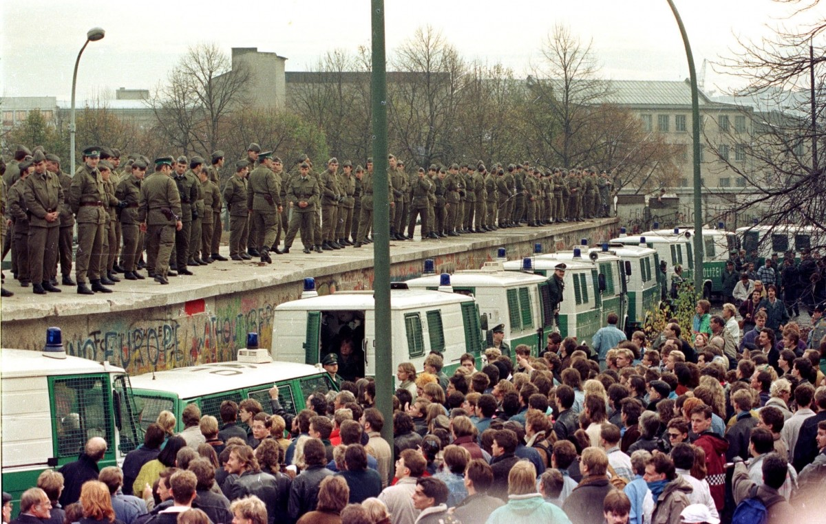 25th Anniversary of Berlin Wall's Fall: