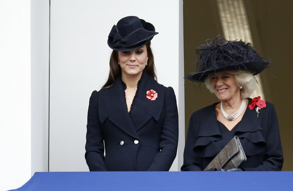 Royalty Catherine and Camilla