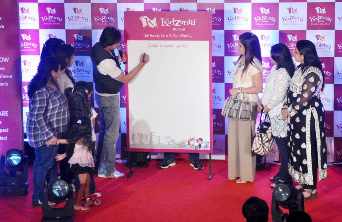 Shah Rukh Khan celebrates Children's Day at KidZania in Mumbai