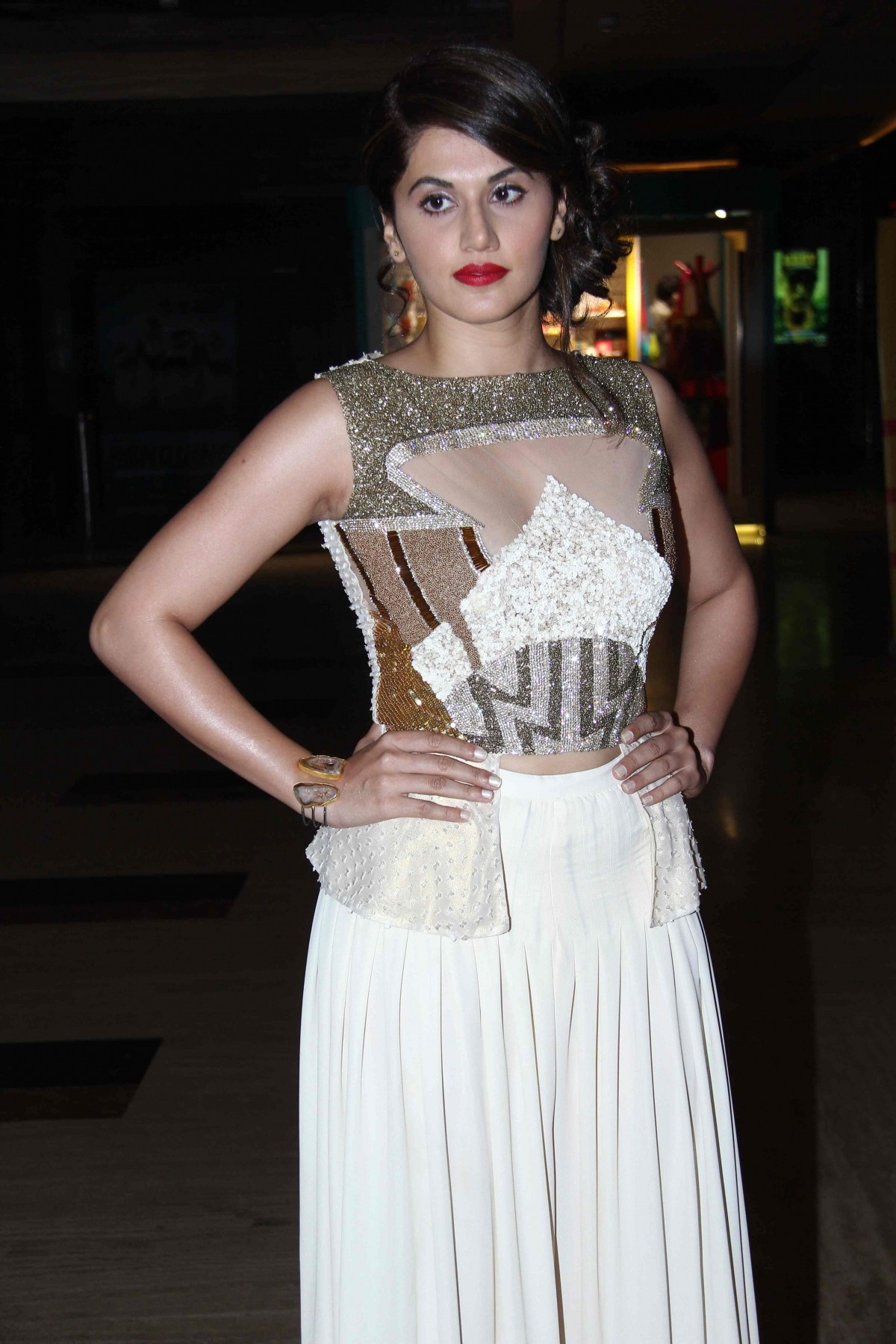 Star cast of film 'BABY' at Trailer Launch at PVR Andheri