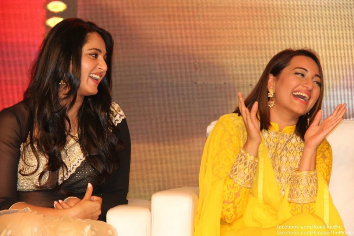 Sonakshi Sinha and Anushka Shetty