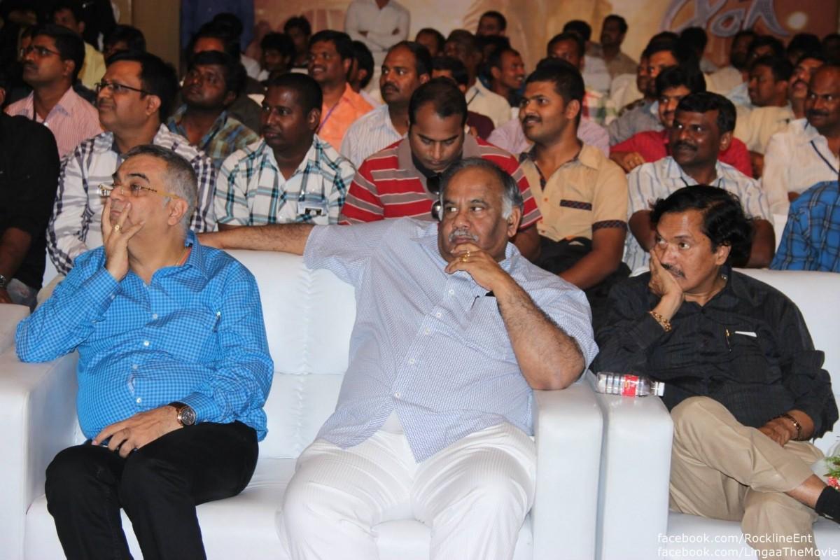 Celebs attending Lingaa Curtain raiser event