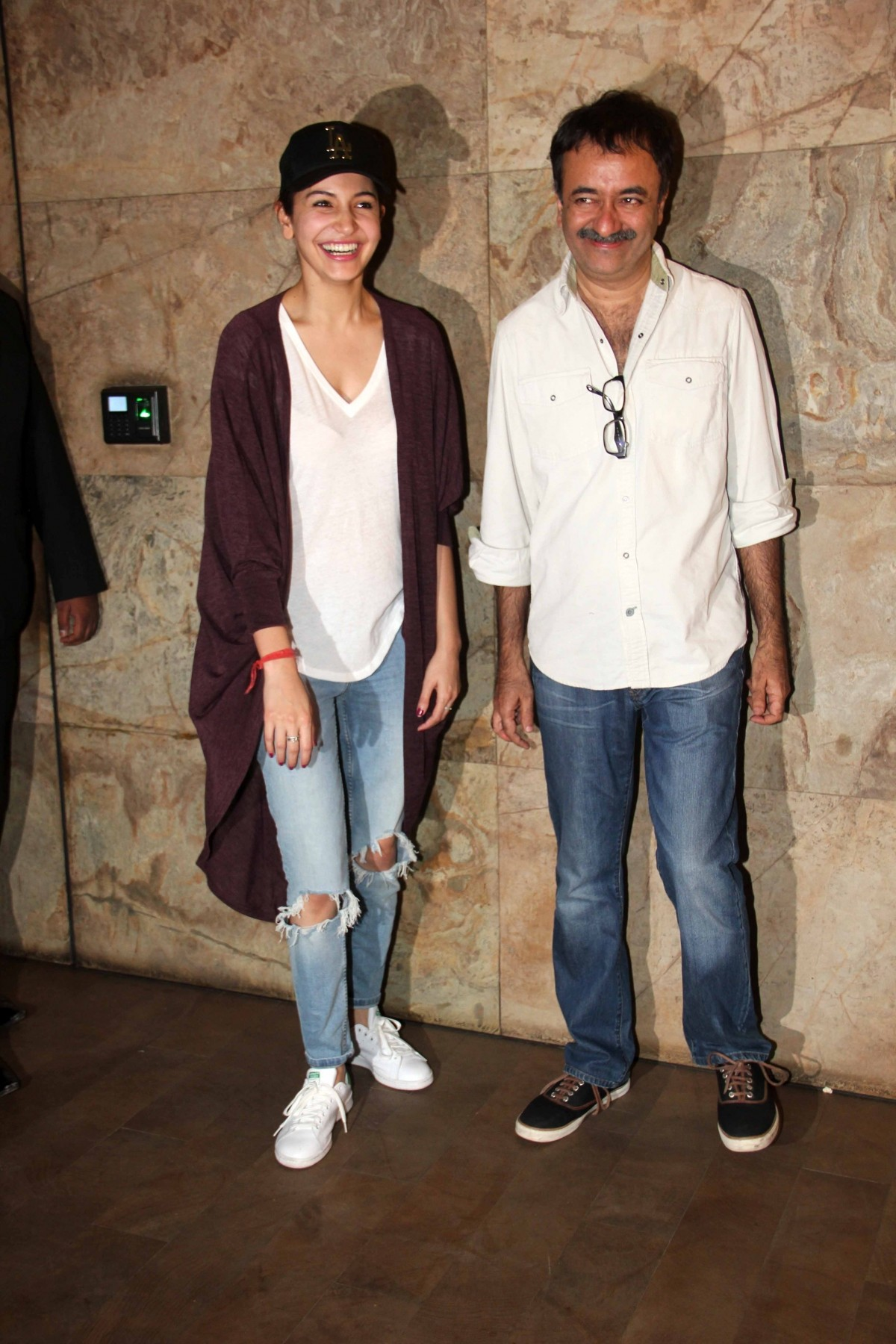 Anushka Sharma and Rajkumar Hirani