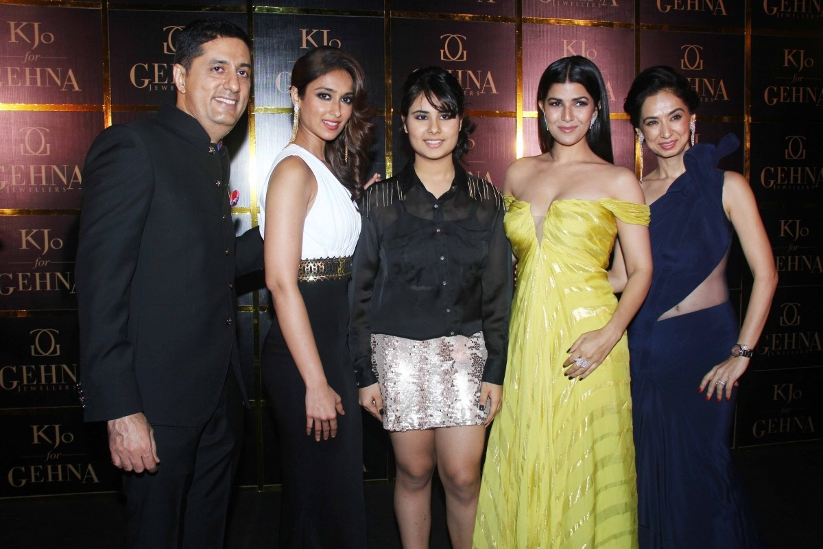 Celebs at KJo for Gehna launch