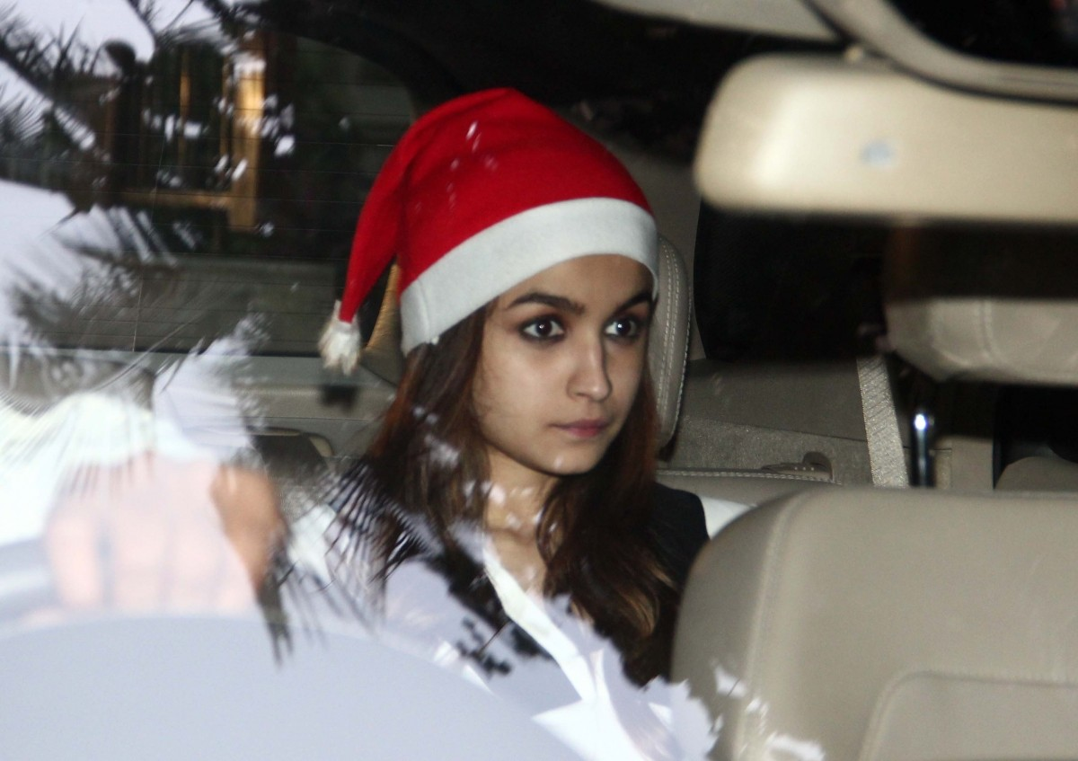 Star Studded Christmas Celebration at Ranbir Kapoor's Residence