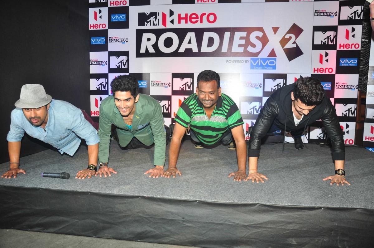 Launch of MTV Roadies X2