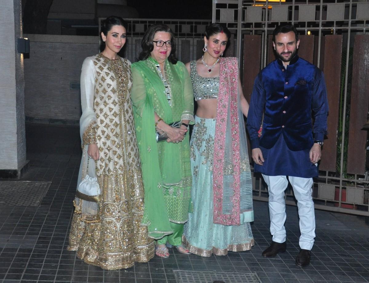 Soha Ali Khan Kunal Khemu Wedding Reception Kareena Kapoor Khan