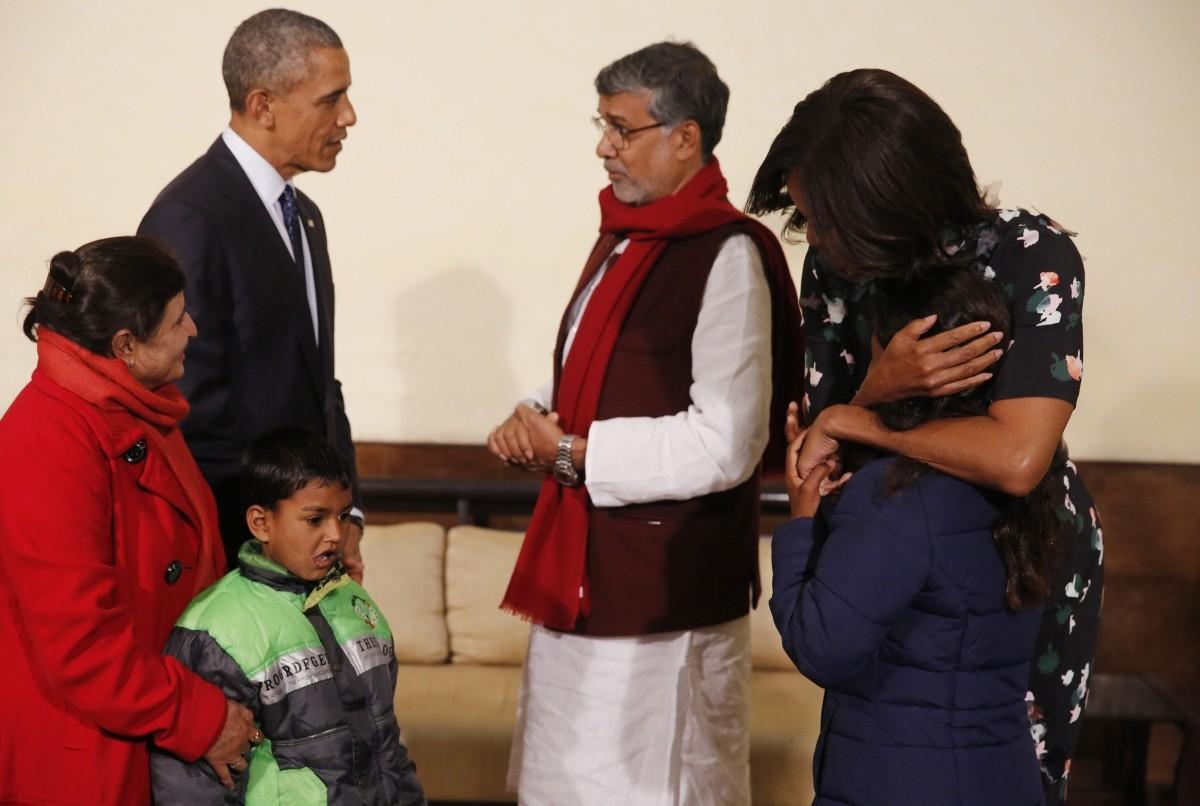 Obama india visit