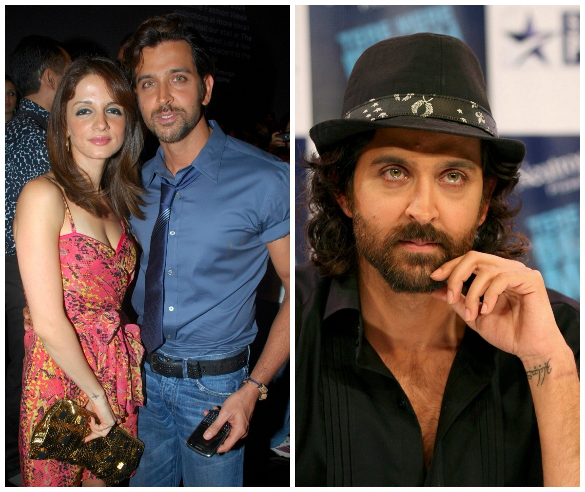 Hrithik Roshan and Sussanne Khan Tattoo