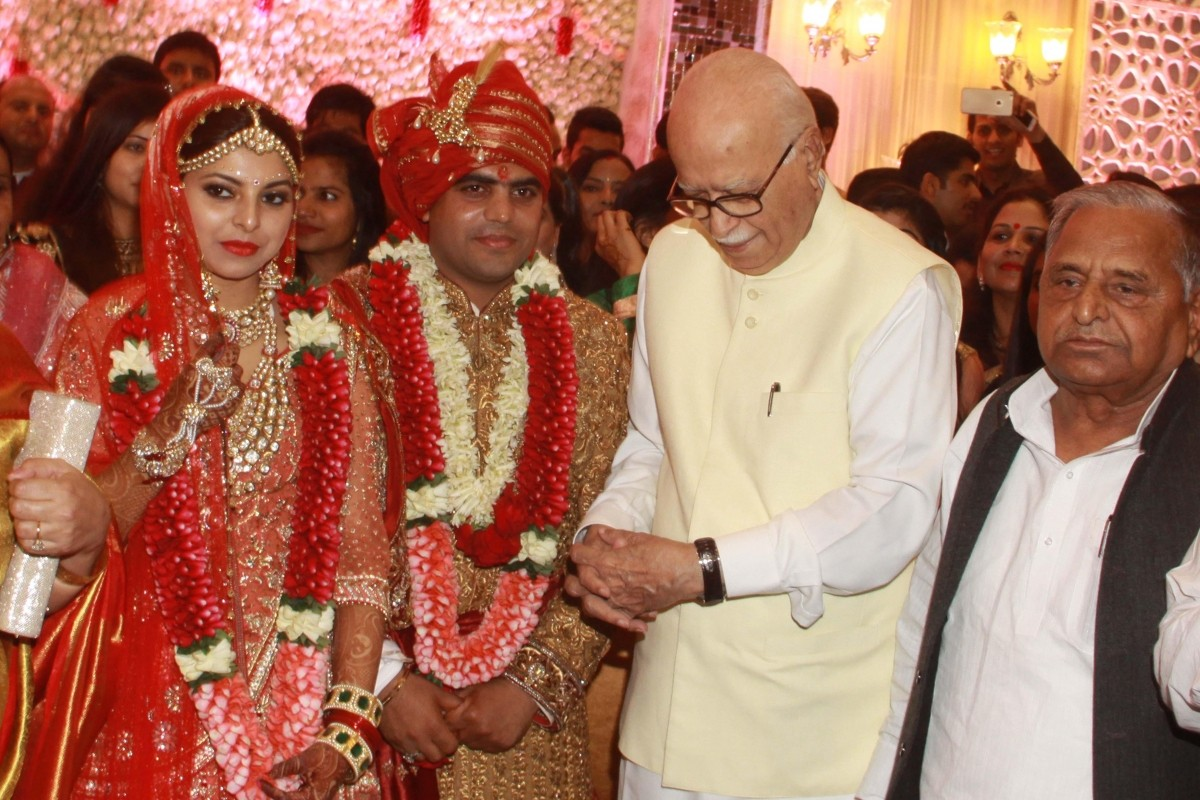 Lalu Yadav's daughter and Mulayam Singh Yadav's grandnephew wedding