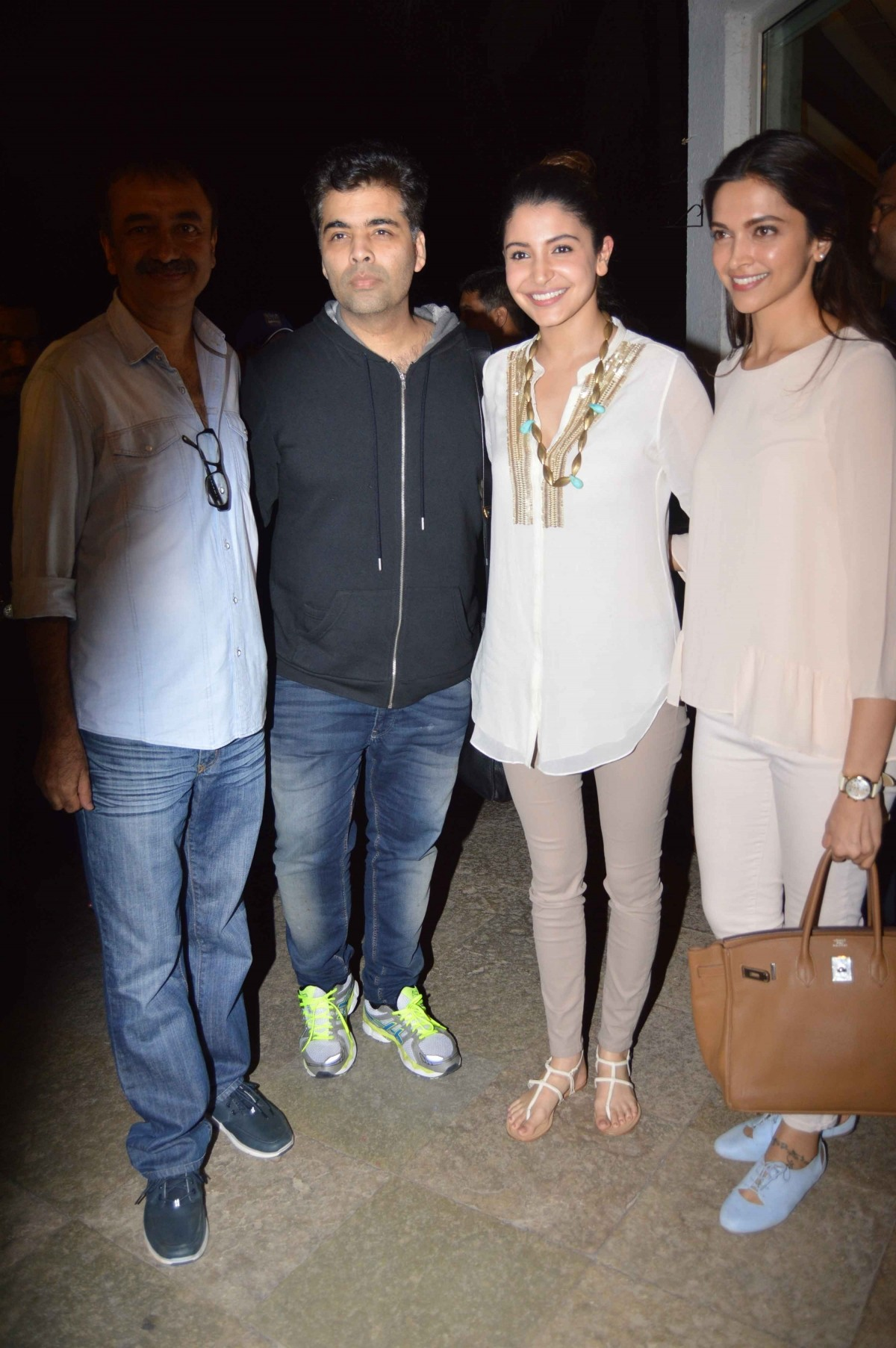 Aamir, Deepika, Anushka, Karan Attend a Meeting Regarding Censor Board Issues