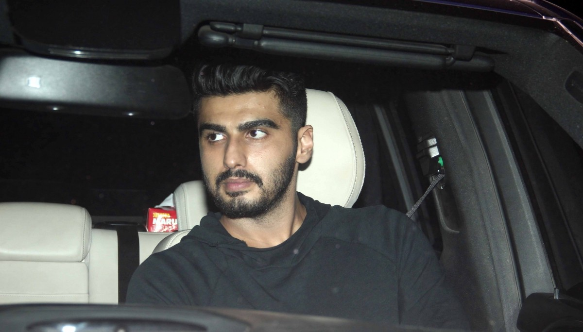 Arjun Kapoor attends 'Bombay Velvet' trailer launch success party