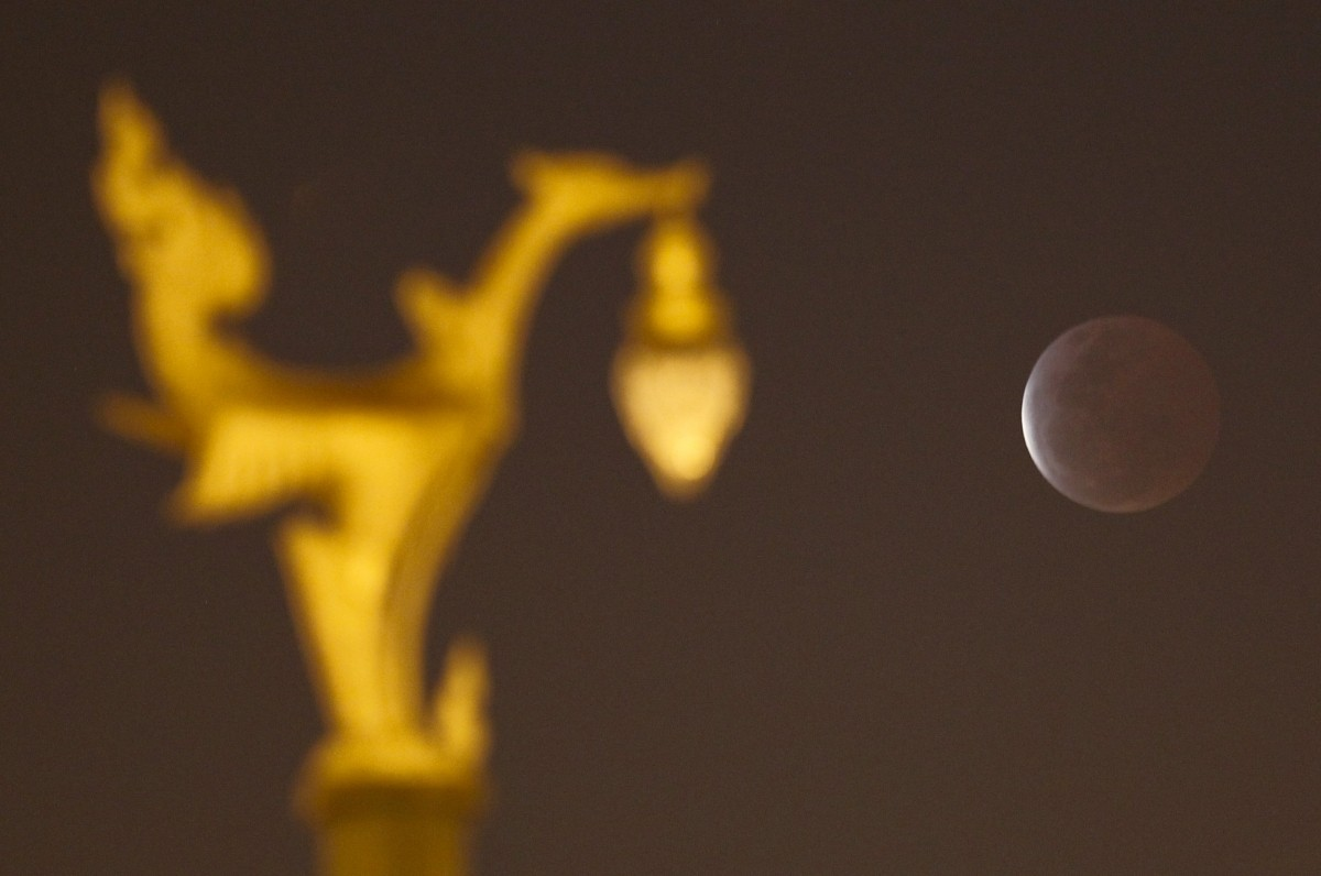 Blood Moon 2015: Stunning Images of 'First' Total Lunar Eclipse