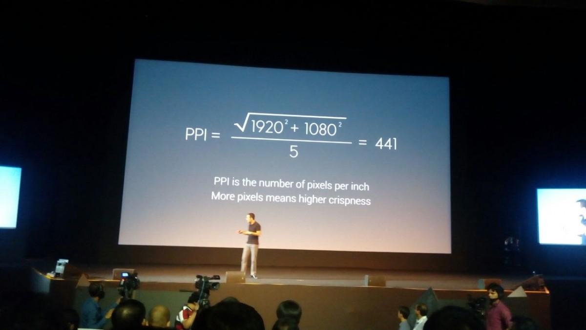 Xiaomi Mi 4i pixel density