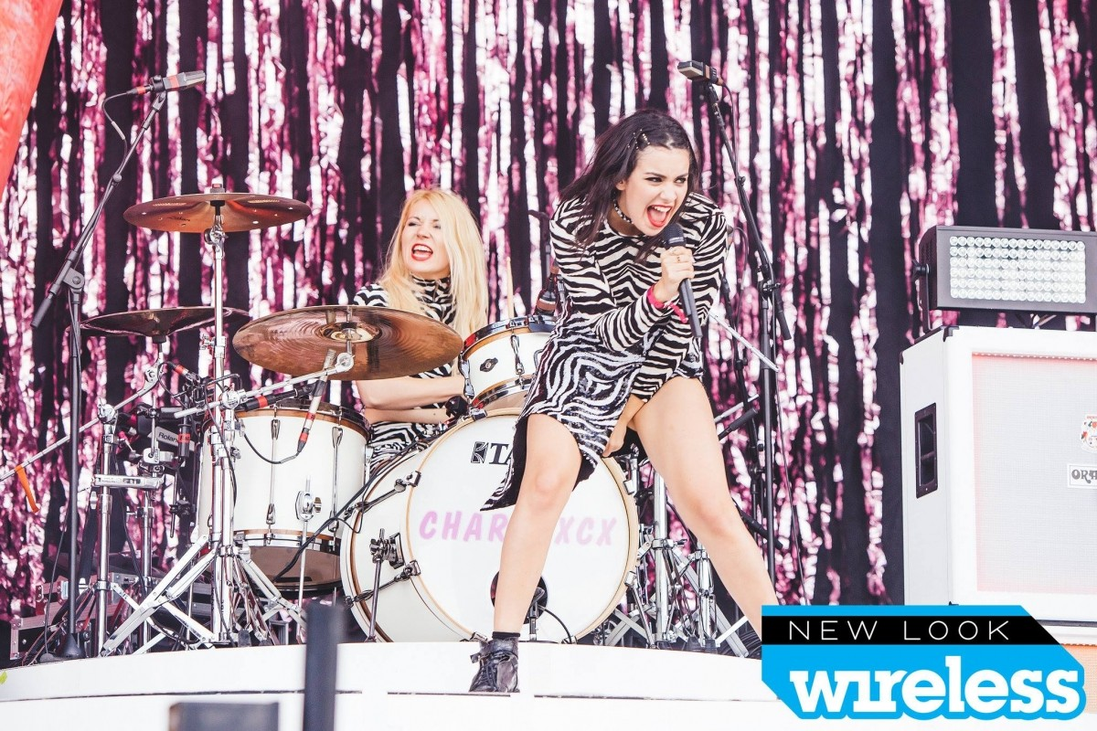 Charlie XCX performs at Wireless Festival