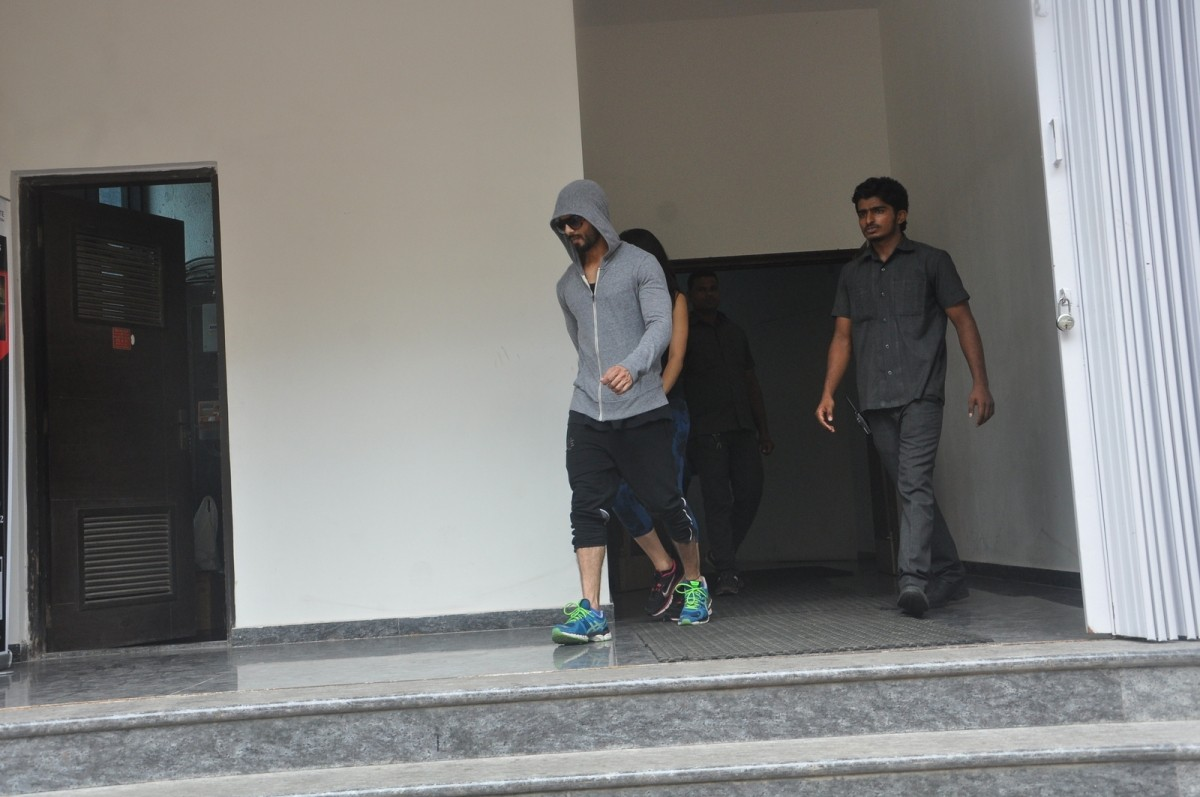 Shahid Kapoor, Mira Rajput Spotted Outside Gym