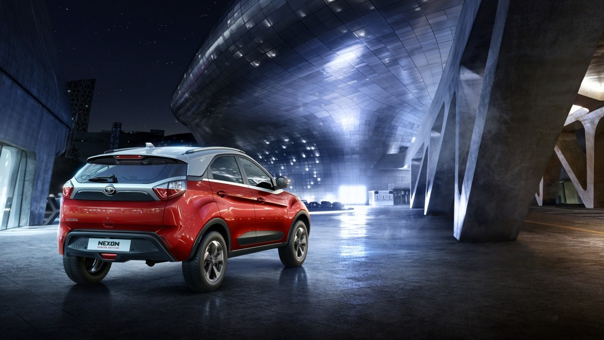 tata nexon compact suv makes surprise appearance at geneva motor