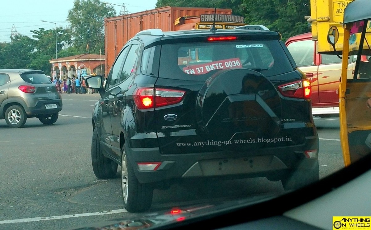 2017 ford ecosport facelift spied testing again head of