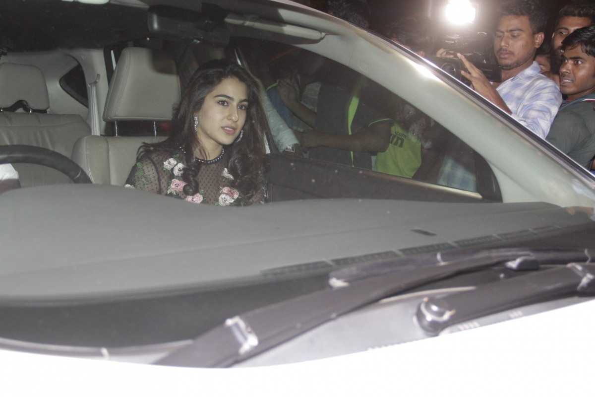 Sara Ali Khan at Deepika Padukone's Padmavati celebration party