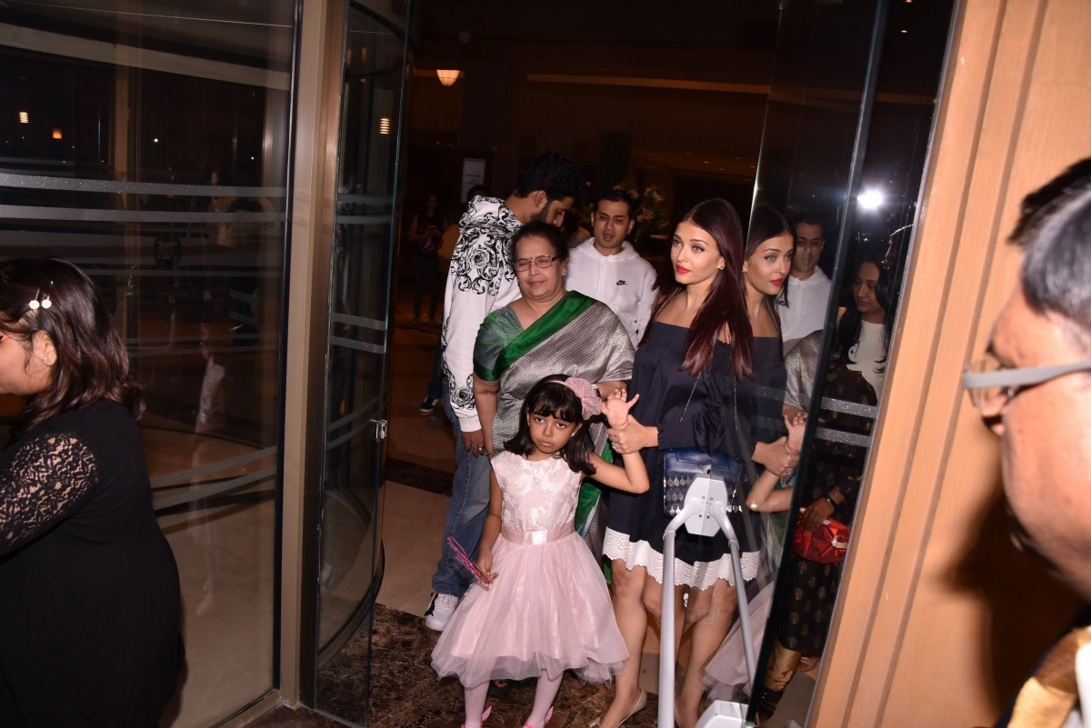 Aaradhya Bachchan birthday celebration