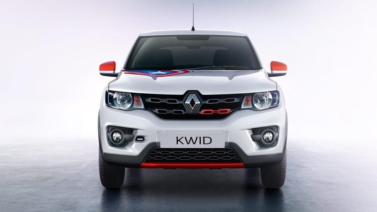 Renault Kwid Super Hero edition with Captain America theme