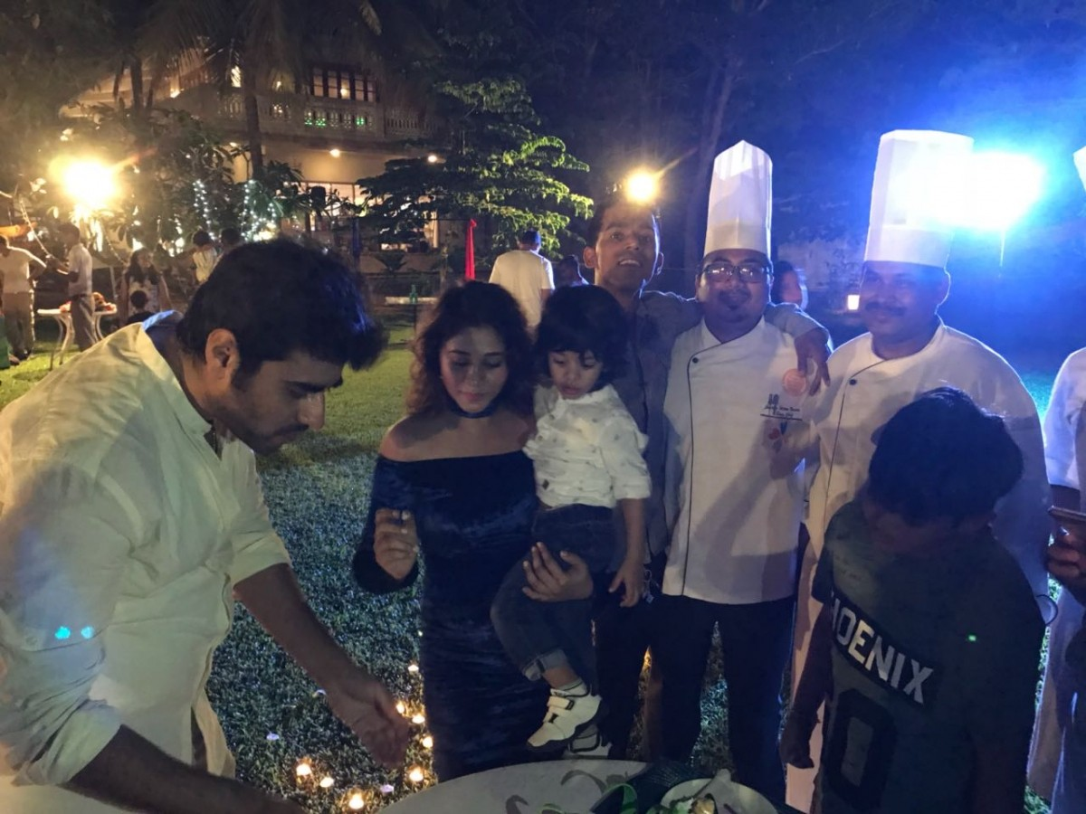 Amrapali's son Kabir's birthday celebration