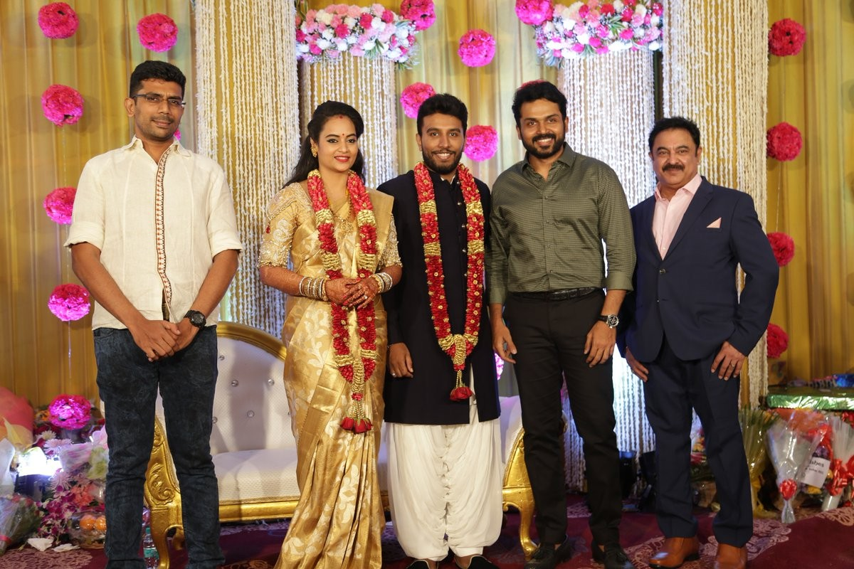 Suja Varunee-Shiva Kumar Wedding Reception Photos