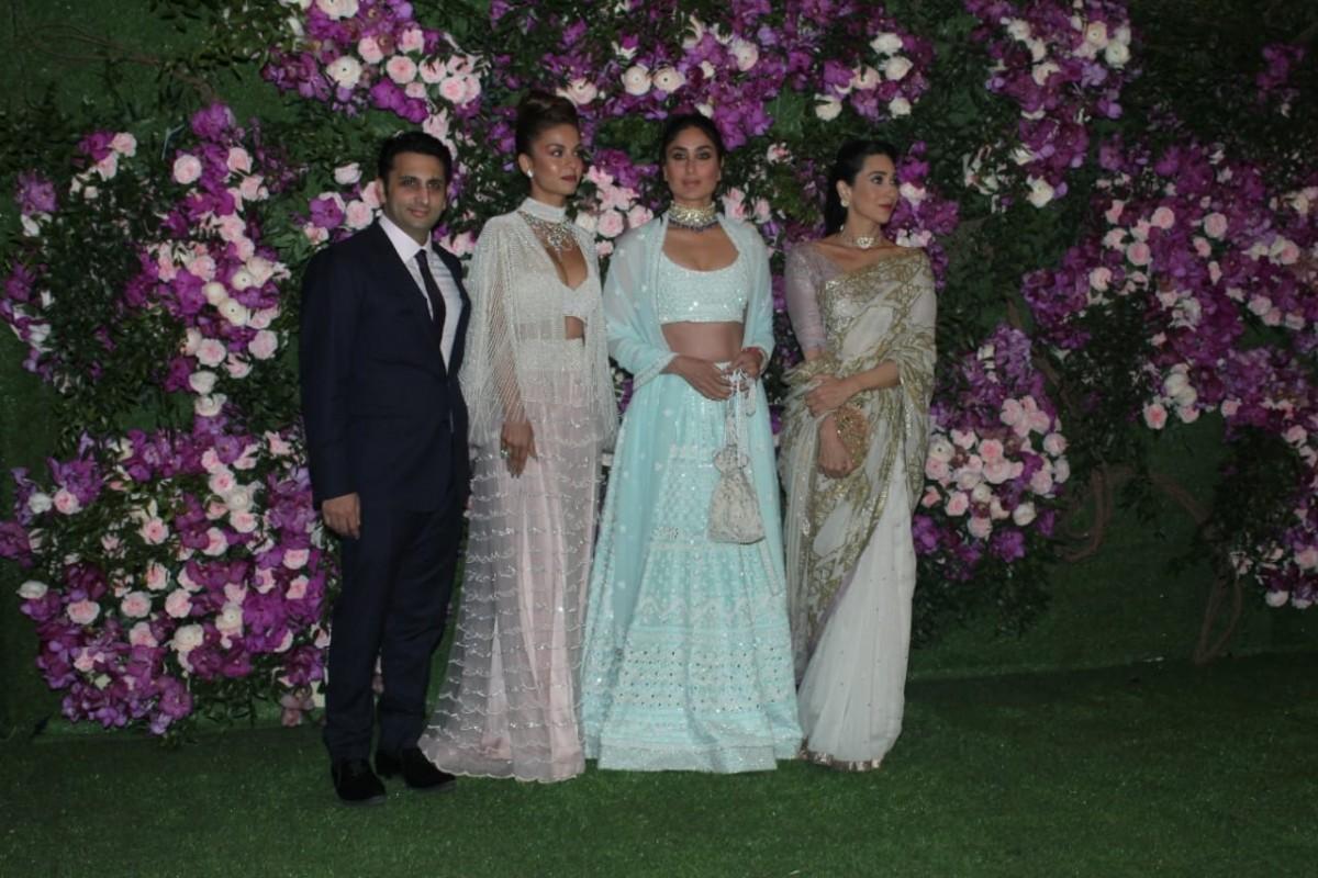 Adar Poonawalla, wife Natasha Poonawalla, Kareena Kapoor Khan, Karisma Kapoor