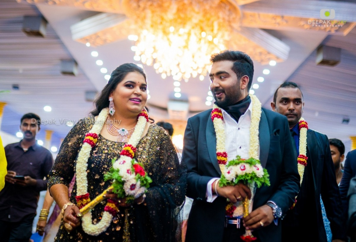 Geethanjali Ravichandran's Wedding Reception